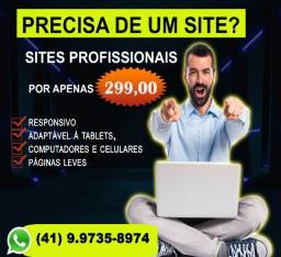 Título do anúncio: Desenvolvimento criação de sites em Curitiba, em promoção.