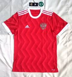 Camisa I Oficial adidas Rússia 2017 / 2018 s/nº Tamanho M