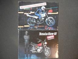 Título do anúncio: Folhetos de Motos Yamaha - Propagandas antigas.