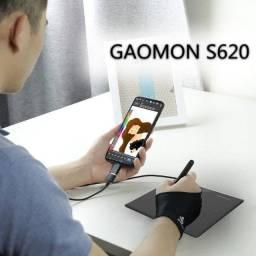 Mesa Digitalizadora Gaomon S620 6.5 X Polegadas - Tablet para Desenho Gráfico