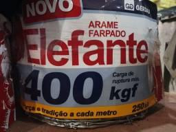 Título do anúncio: ARAME FARPADO ELEFANTE 250M