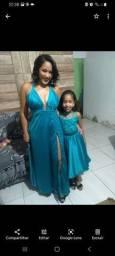 Vestido mãe e filha para formatura,aniversário de 1 ano.