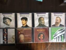 CDs de músicas clássicas