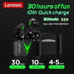 Fone bluetooth para gamer original Lenovo