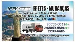 FRETES E MUDANÇAS CAMINHAO BAU
