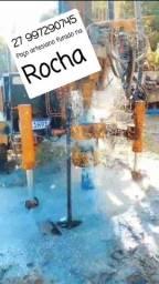 Poço artesiano furado na Rocha