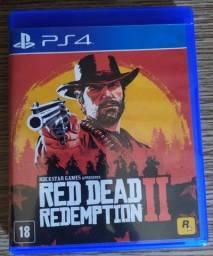Título do anúncio: Red Dead Redemption 2 PS4 Semi novo