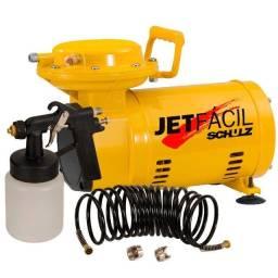 Título do anúncio: Compressor De Ar Direto Jet Fácil Schulz Com Kit de Pistola- Novo