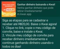 Baixe o kawai  e  ganhe dinheiro.