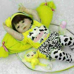 Título do anúncio: Boneca bebê reborn silicone entrega gratuita em toda baixada