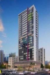 Flat com 1 dormitório à venda, 49 m² por R$ 352.000,00 - Tambaú - João Pessoa/PB