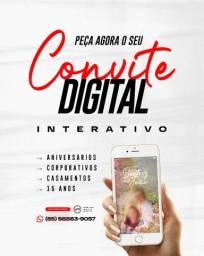 Título do anúncio: Convite de Casamento Digital Interativo