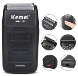 Título do anúncio: Máquina De Barbear Shaver Barbeador Kemei Km-1102 110v/220v