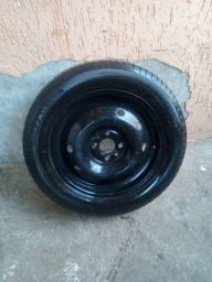 Roda 15 com pneu