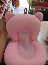 Almofada de banheira recém nascido
