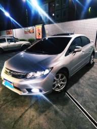 Honda Civic EXS teto solar km baixo 86 mil