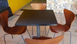 Título do anúncio: Mesas e cadeiras para lanchonete,pizzaria, cafeteria