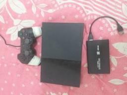 Ps2 com HD de 500gb