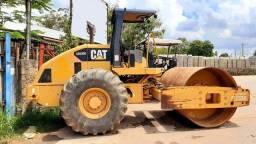 Vendo rolo compactador caterpillar CS533E kit pata ano 2008