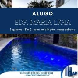 Alugo 81 m²/ 3 quartos/ Boa Viagem / área de lazer/ /armários