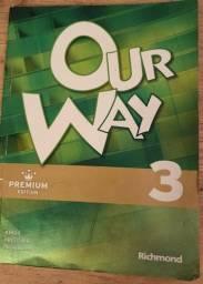 Livro de Inglês Our Way 3 (usado)