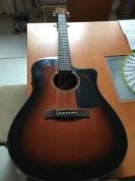 Violão Original Fender CD60CE + Case profissional