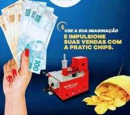 Título do anúncio: Máquina industrial de fritar batata Chips ?