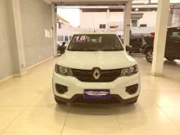 Título do anúncio: Renault Kwid Zen 1.0 Branco Completo 2018