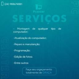 Serviços computador / celular