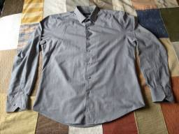 camisa cinza request