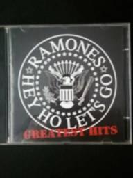 Cd Ramones- Hey Ho Let's Go - Greatest Hits, 2006