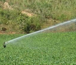 Irrigação excelente
