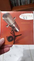 CD Acústico do Oficina G3 autografado por Juninho Afram o melhor guitarrista Gospel
