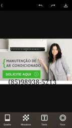 Manutenção ar condicionado 99,00$