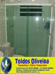 Toldos Oliveira São Vicente - Box de vidro temperado
