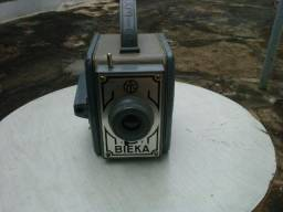 Maquina fotográfica bieka (decada 60), seminova.