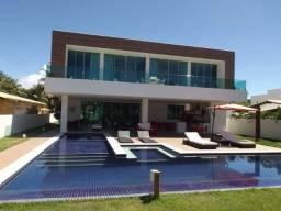 Casa à venda no Condomínio Mar Azul, frente Mar, em Guarajuba