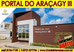 Portal do Araçagy - Casas duplex c/ 3 quartos
