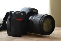 Câmera Profissional D200 + Lente 18-108mm Zoom