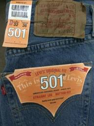 Calça jeans Levis 501 nova