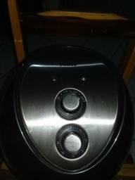 Fritadeira Philco Air Fry Inox - Preto