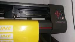 Máquina de Recorte para Adesivos