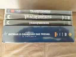 Coleção imperdível: Trilogia Batman + Trilogia Transformers originais e novos (ITAJAÍ)