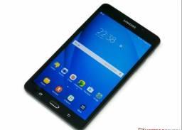 Vendo tablet Samsung tab A 2016 0.7 pega chip cartão de memória igual celular