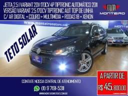 Volkswagen Jetta 2.5 I Variant 20v 170cv 4p Tiptronic Aut Top de Linha C/ Teto Solar - 2011