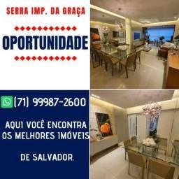 Oportunidade 3 quartos com suíte e dependência em 102m² Serra Imperial da Graça