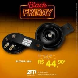 Buzina 48V - Oferta!!! ZM Equipamentos - Black Friday