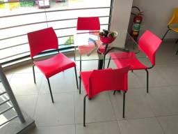 PROMOÇÃO STAR MÓVEIS ! Mesa com 4 Cadeiras