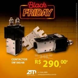 Contactor para empilhadeiras elétricas 180/48 - Oferta!!! ZM Equipamentos - Black Friday
