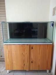 Vendo aquário muito novo + móvel (Anápolis)